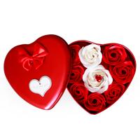 خرید پکیج کادویی انگشتر و گل عطری طرح Love