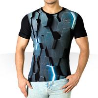 فروش ویژه تی شرت سه بعدی Hex