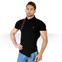 فروش ویژه تی شرت یقه شل مدل Round