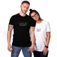 فروش ویژه ست تیشرت مردانه و زنانه Night-Day