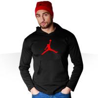 فروش ویژه ست سوئیشرت و کلاه Jordan