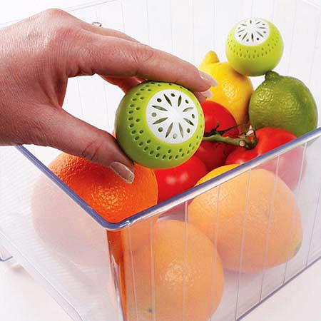 خرید اینترنتی توپ بوگیر و تازه نگهدارنده میوه و سبزیجات