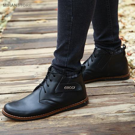 خرید اینترنتی کفش چرم مردانه شیک