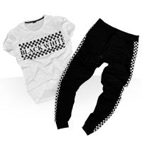 فروش ویژه ست تیشرت و شلوار Black White